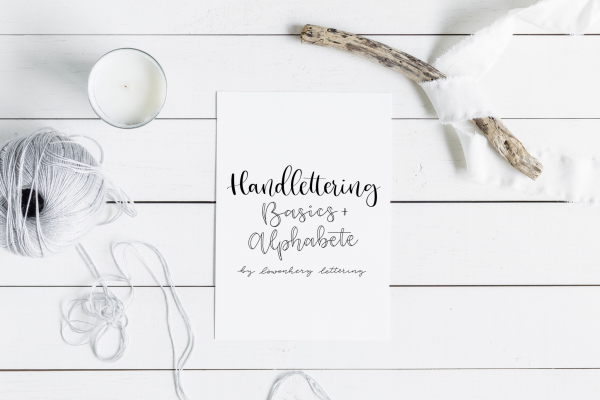 Handlettering Workbook